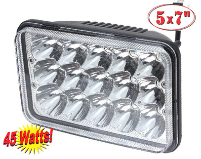 LED Light headlamp 6x4 1 pcs