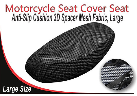 Motorcycle Seat Cover Black