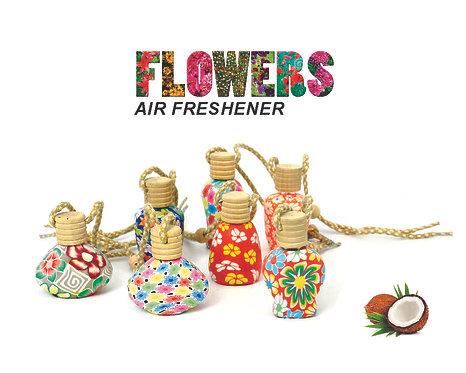 Air Freshener Flower Bottle Coconut