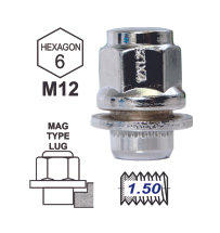 Duplex MAG Attached Washer L37 12x1.5