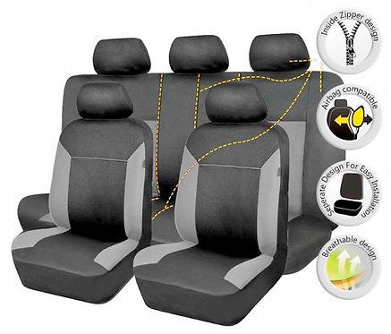Seat Cover Poseidon 10Pcs Gray-Black
