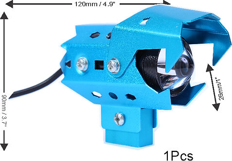 U9 CREE LED Wolwerine Blue 1 pcs