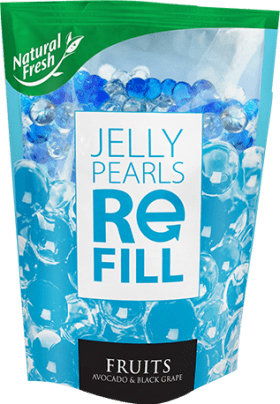 Jelly Pearls Refill Fruits 250ml