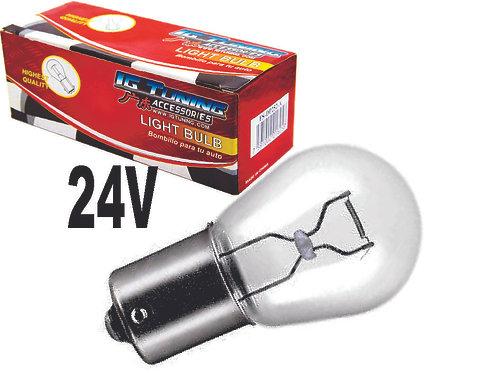 Single Cont  Glass Bulb 24 Volts 10Pcs