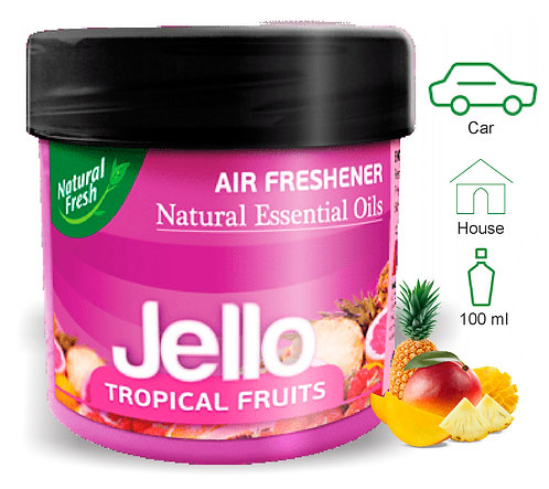 Jello Tropical Fruits 100g