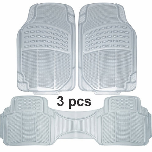Pvc Car Mat Adjustable 3 Pcs Clear