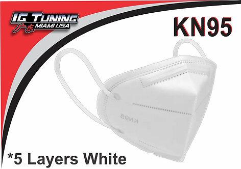 Mask KN95 White