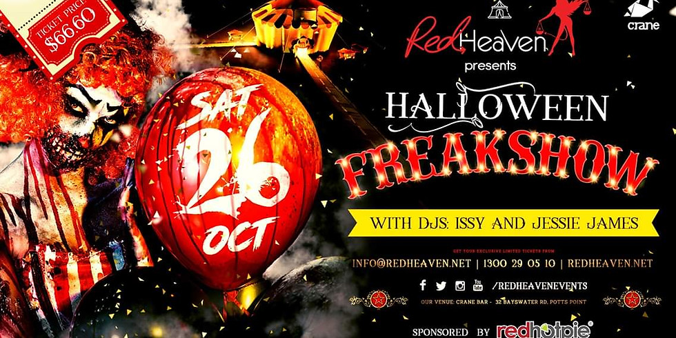 Red Heaven Presents - Halloween Freakshow