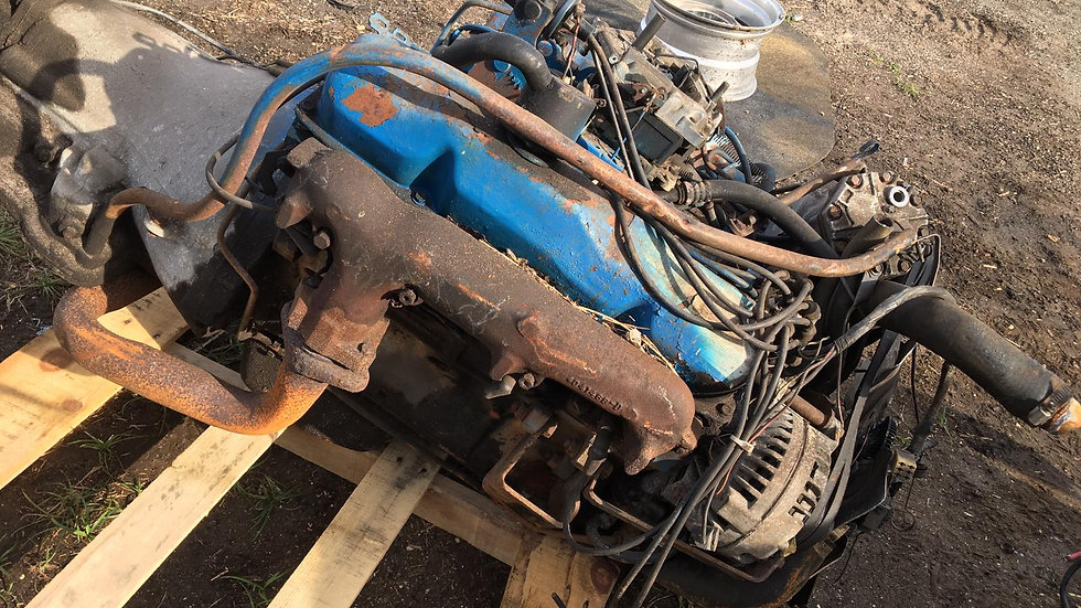 460 engine with transmission year -78