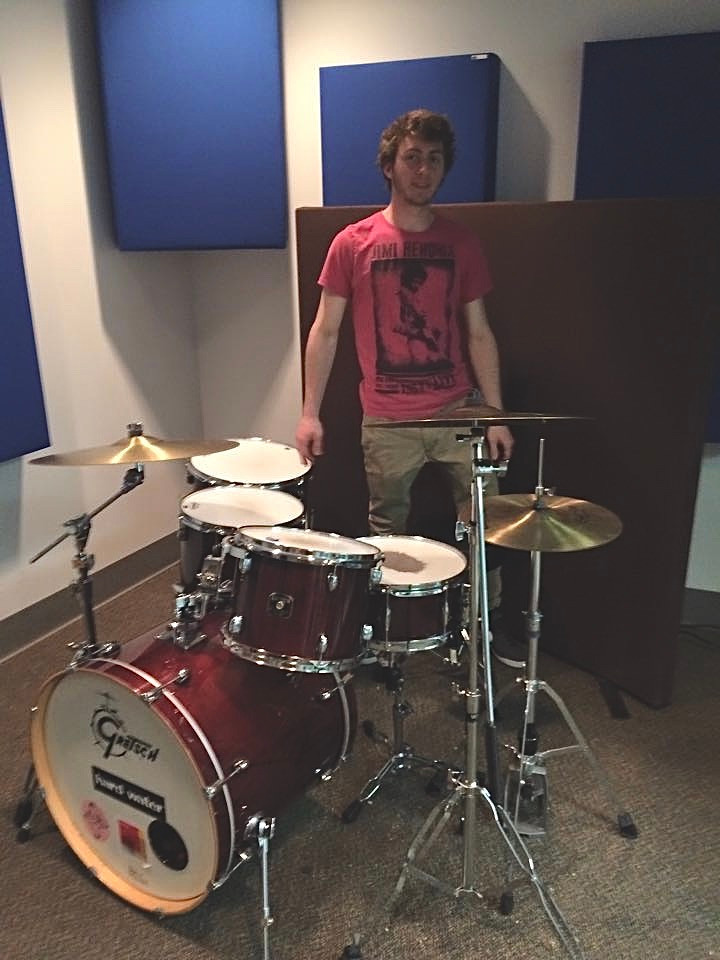 Recording Drums at Hartt Recording Studio