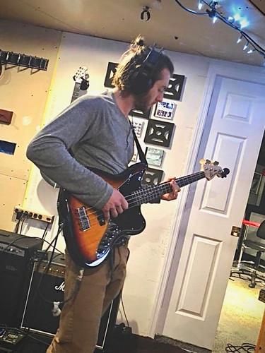 Tracking Bass at Pharaoh Studios, 2018