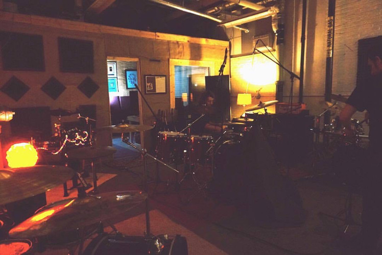 Tracking Drums for The Merks at The Speakeasy, 2018