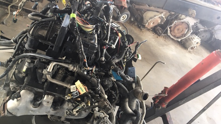 5.3 LS Chevrolet engine + wiring harness, computer box