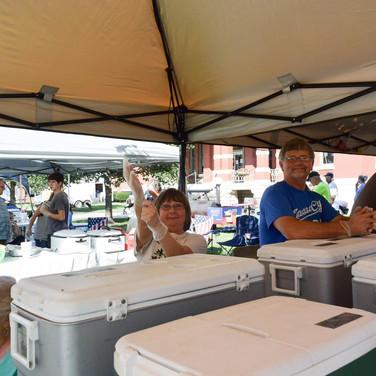 Car Show Ice Cream Volunteers
