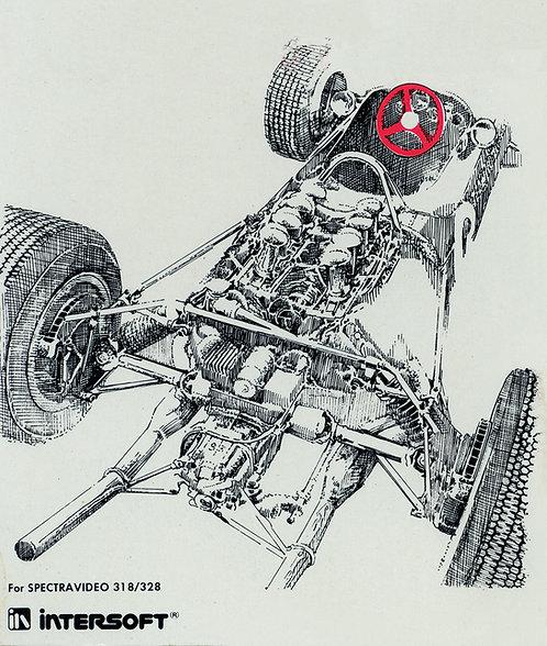 Corporate Design - Intersoft Formula 1 Illustration