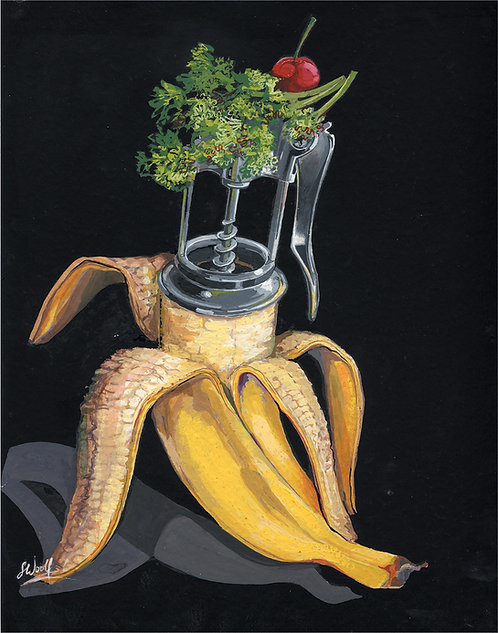 Corporate Design - Food Industry Illustration