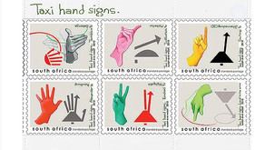 South African Stamp and Taxi Artwork Become International Collectors Items