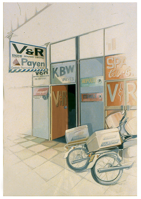 Corporate Commission - V&R Shop
