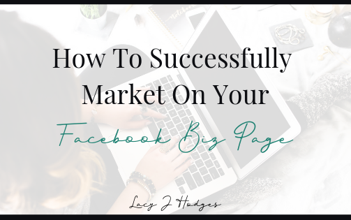 How To Successfully Market On Your Facebook Page