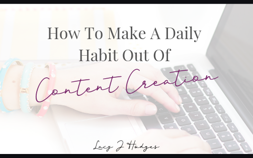 How To Create Content Daily