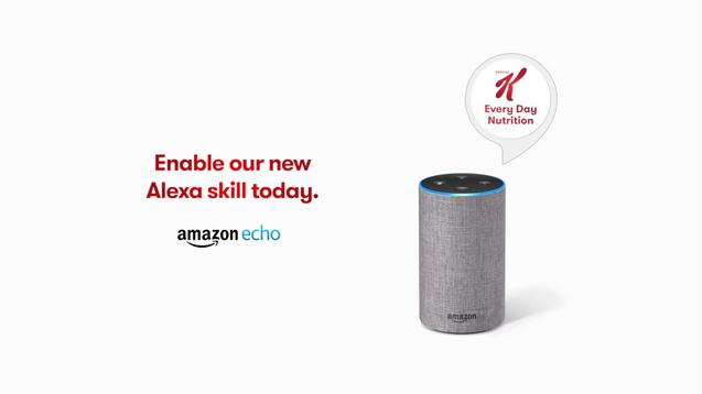 Kellogs x Amazon