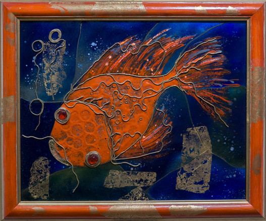 ''Red fish'' impressions of Korea / 2017