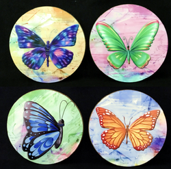 Butterfly Coasters