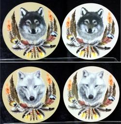 Wolf Coasters