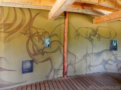 Breitmaulnashorn Gehege (2)