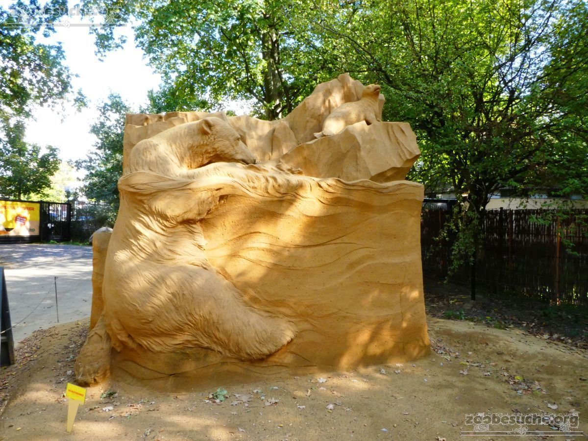 Sandskulptur - Eisbär (1)