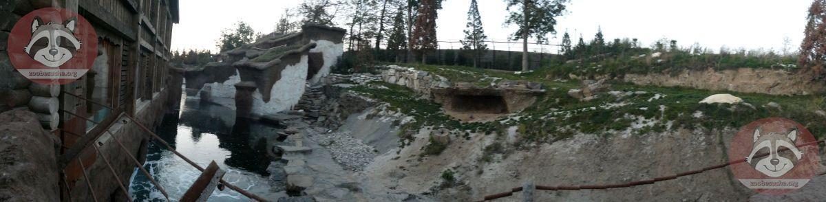 Eisbärenanlage