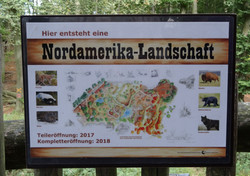 Nordamerika-Landschaft