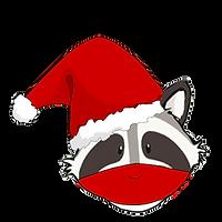 weihnachtswuschel mit Mundschutz PNG.png