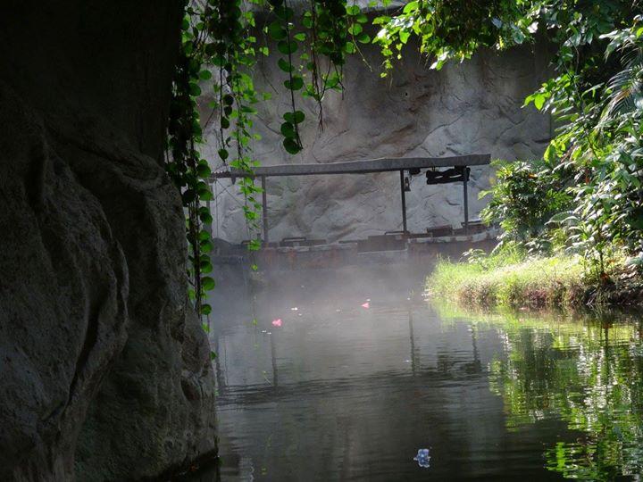 Flußfahrt im Godwanaland