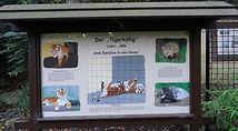 Tigerkäfig Schild