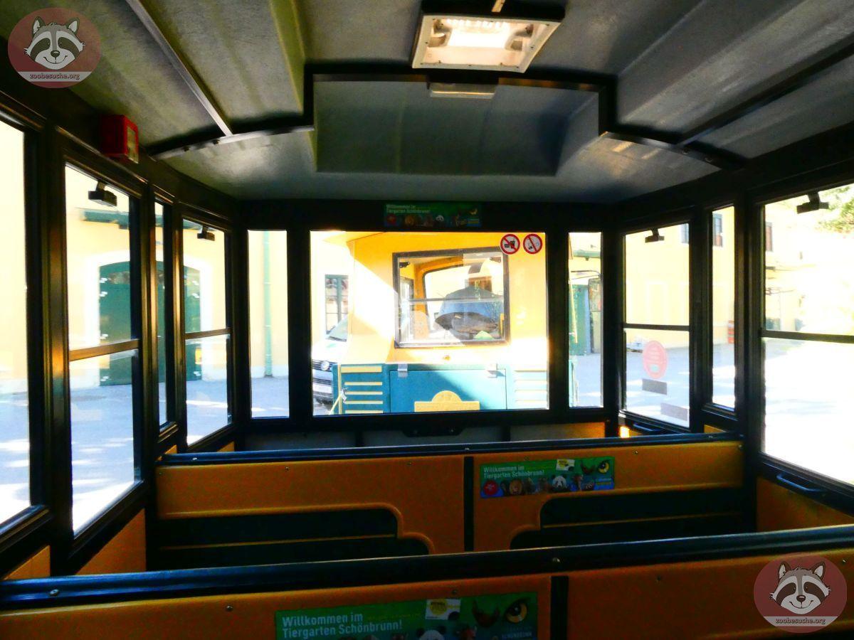 Tiergartenbahn Innen