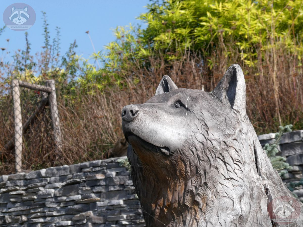 Wolfsfigur
