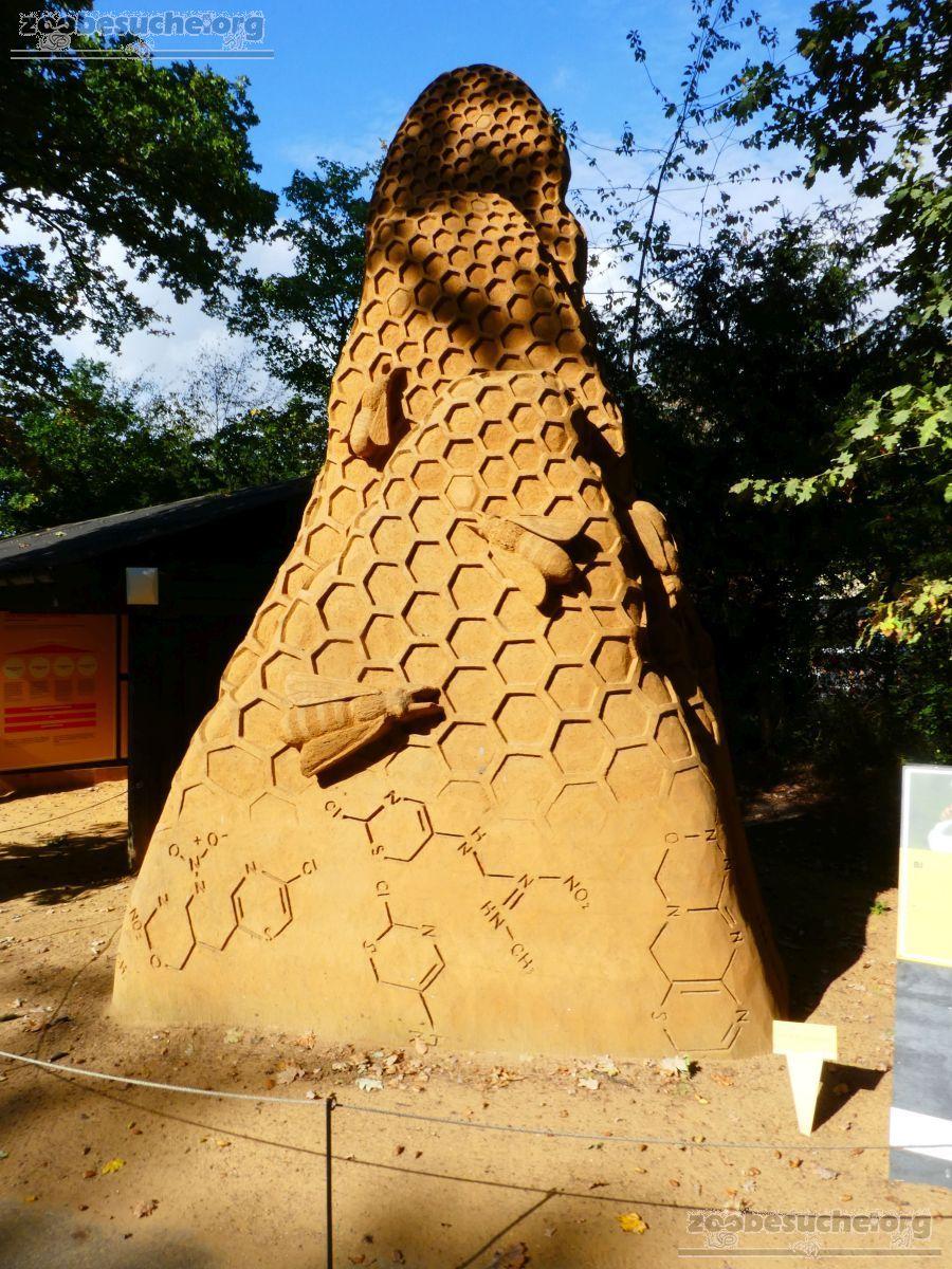Sandskulptur - Binen