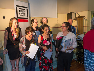 MEDIA RELEASE: Milk Crate Theatre wins funding, appoints Artistic Director and new Board Member