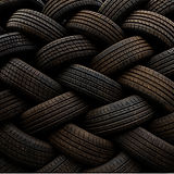 "Jalal Bin Thaneya, ""Tires 01"", 2018, Photography, 120 x 160 cm. © Jalal Bin Thaneya, courtesy of Tashkeel."