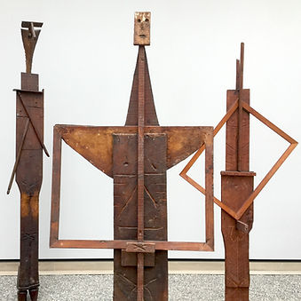 Details: Pablo Picasso, Bathers, 1956, Found pieces of wood, assembled and reworked, variable sizes.