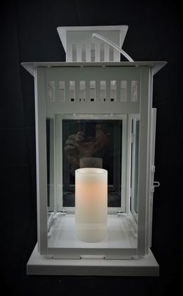 White Square Lantern