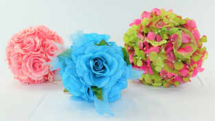 Blue, Pink, Limegeen/pink
