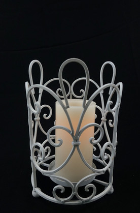 White Cage Lantern