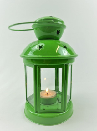 Lime Star Lantern