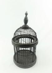 Round Black Cage