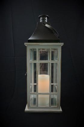 Rustic Window Lantern