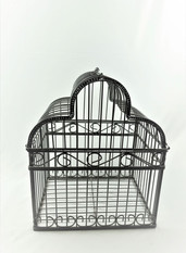 Black Barn Cage