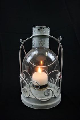 White Glaze Lantern