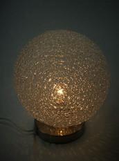 Gold Globe Light